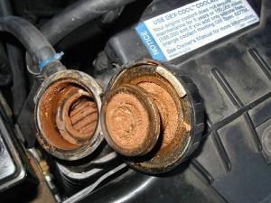 coolant - Rusty-Radiator
