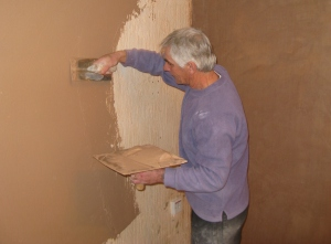 Home Construction plastering 2