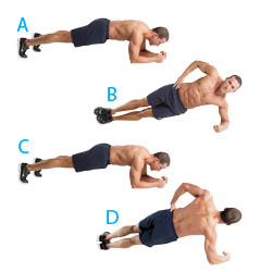 Rolling Plank Exercise