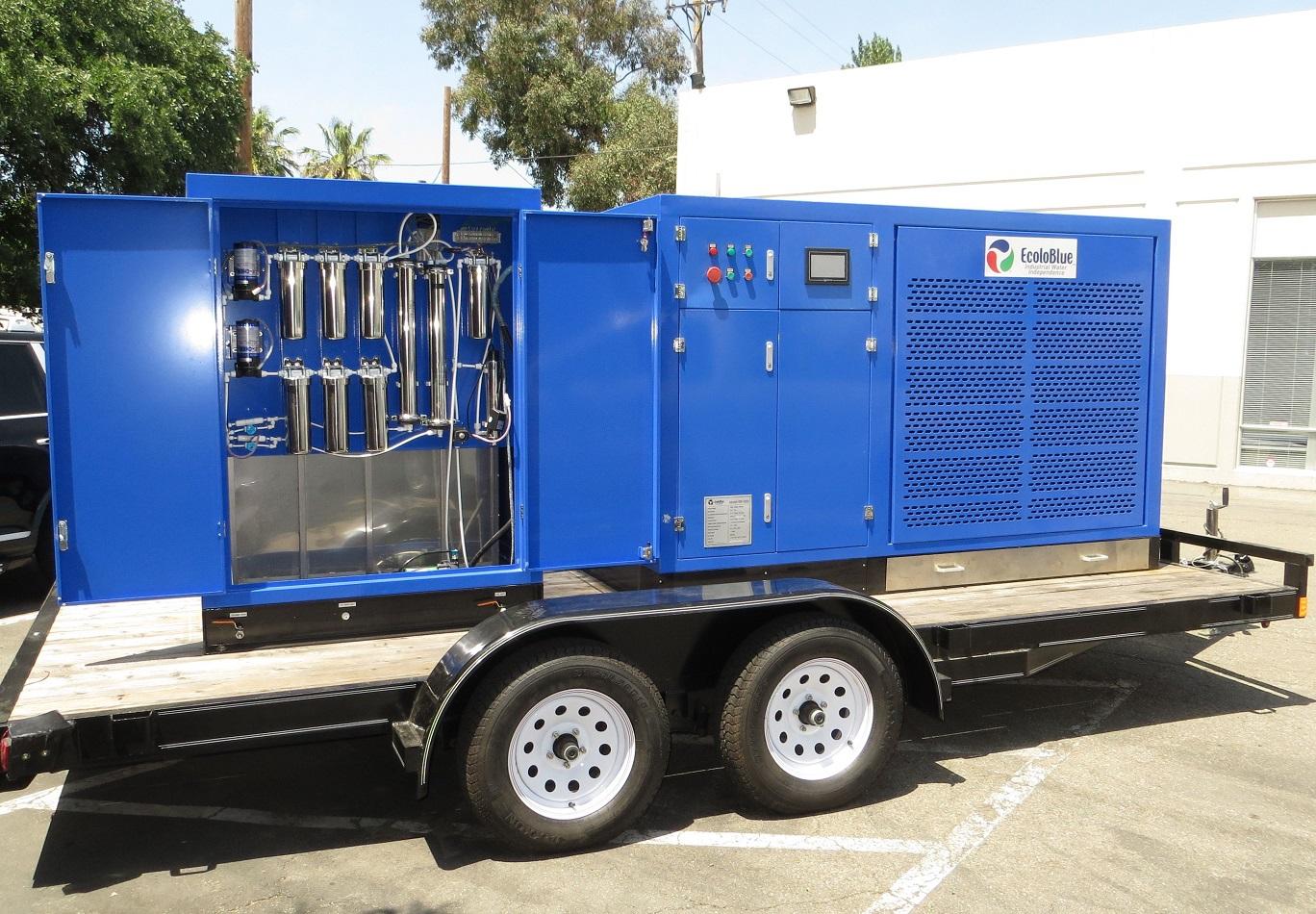 Atmospheric Water Generator ~ مشروع لمن يريد الربح المالي توليد الماء النقي من الهواء