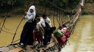 dangerous roads to schools 1