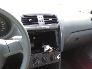 Car stereo theft