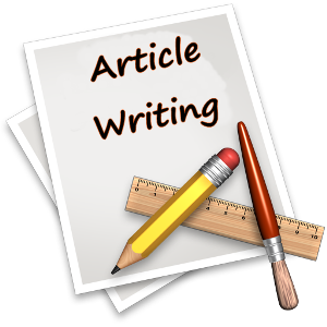 How to write an article 1