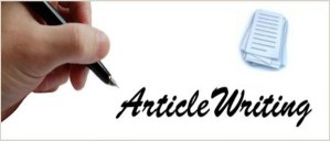 How to write an article 3