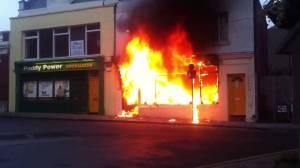 Shop Fire 1
